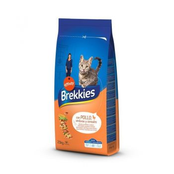 Brekkies Excel Cat Mix Pui, 20 kg