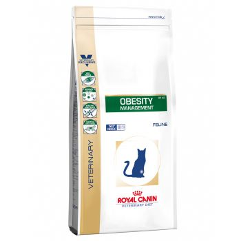 Dieta veterinara Royal Canin Obesity Cat 0,4 Kg pisici