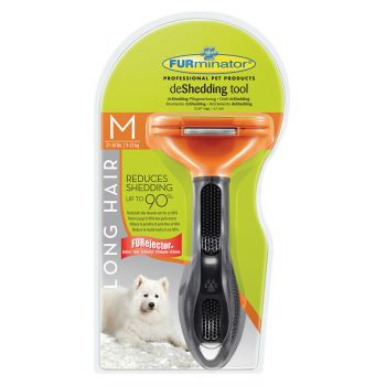 Perie Furminator Dog Long Hair M caini