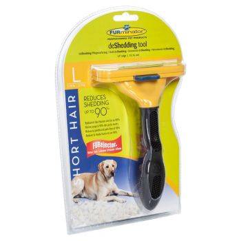 Perie Furminator Dog Short Hair L caini