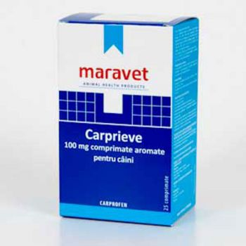 Carprieve Flavoured 100 mg 25 tab