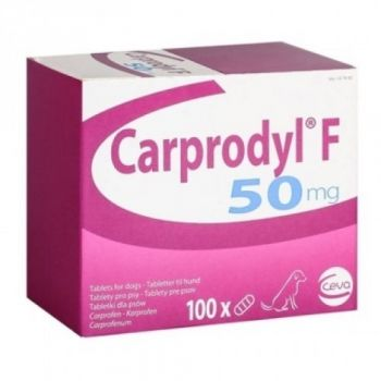 CARPRODYL F 50 MG - 5 COMPRIMATE/BLISTER ieftin