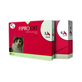 FIPRO CAT 50 mg, 3 pipete