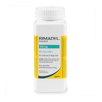 Rimadyl 100 mg, 20 tablete palatabile