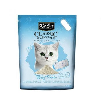 Kit Cat Classic Crystal Baby Powder, 5 l