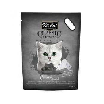 Kit Cat Classic Crystal Charcoal, 5 l