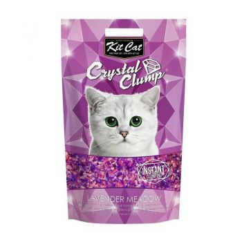 Kit Cat Crystal Clump Lavender Meadow, 4 l