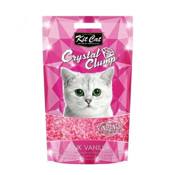Kit Cat Crystal Clump Pink Vanilla, 4 l