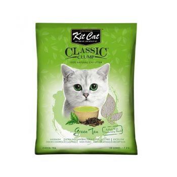 Kit Cat Classic Clump Green Tea, 10 l