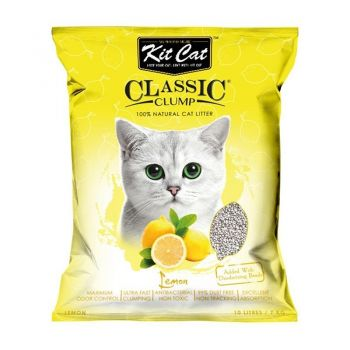 Kit Cat Classic Clump Lemon, 10 l