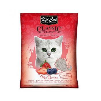 Kit Cat Classic Clump Mix Berry, 10 l