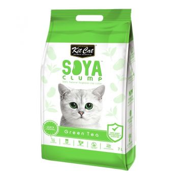 Kit Cat Soya Clump Green Tea, 7 l