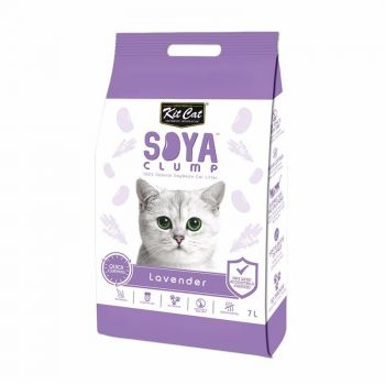 Kit Cat Soya Clump Lavender, 7 l