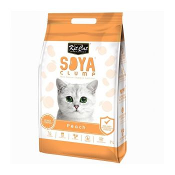 Kit Cat Soya Clump Peach, 7 l