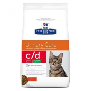 Hill's PD c/d Urinary Stress Reduced Calorie Urinary Care hrana pentru pisici 1.5 kg