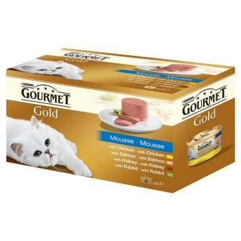 Gourmet Mousse 4*85 g