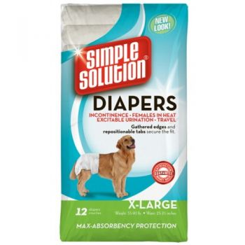 Diapers X-Large 12buc