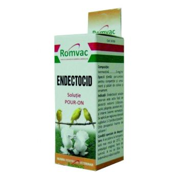 ENDECTOCID Solutie spot–on 10 ml pasari