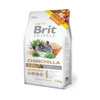 Hrana Brit Animals Chinchilla 1,5 kg rozatoare