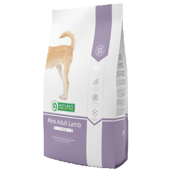 Hrana uscata NATURES PROTECTION ADULT MINI LAMB 500 G (DOG) caini